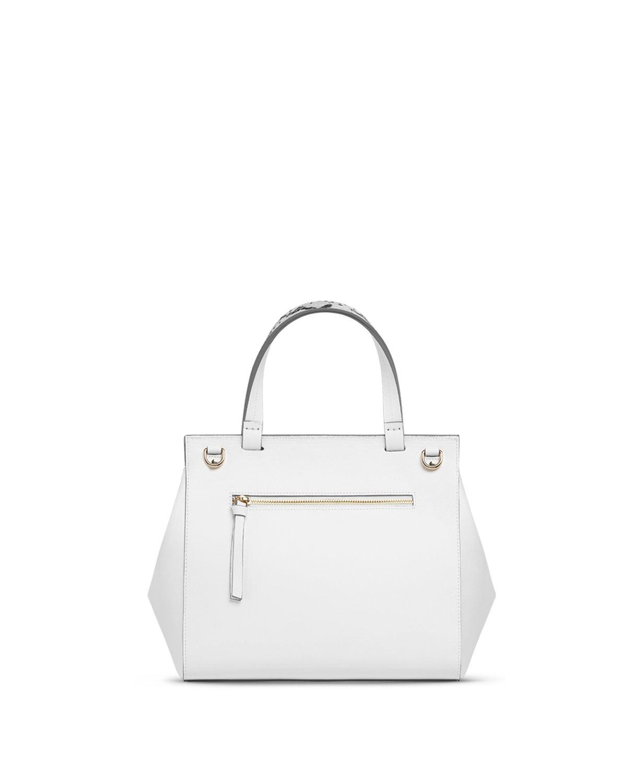 Kilesa Melissa borsa medium bianca retro