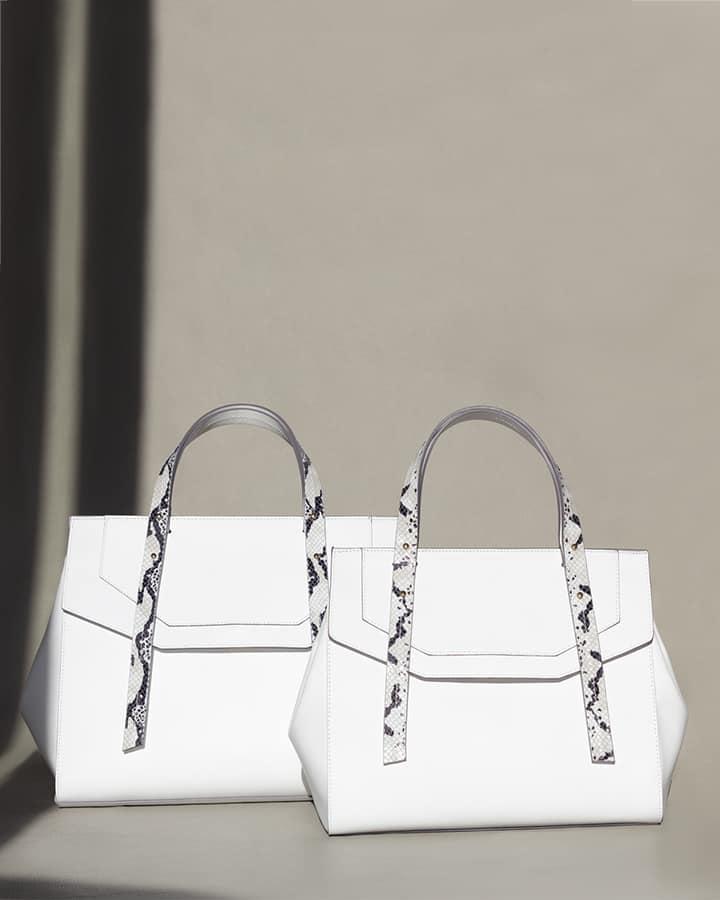 Kilesa Melissa handbag con manico double face