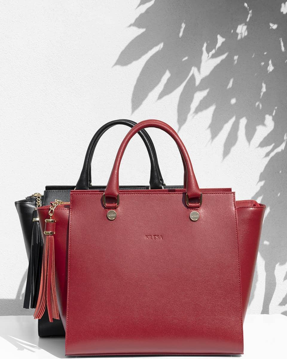 Kilesa Bags shopper in saffiano leather