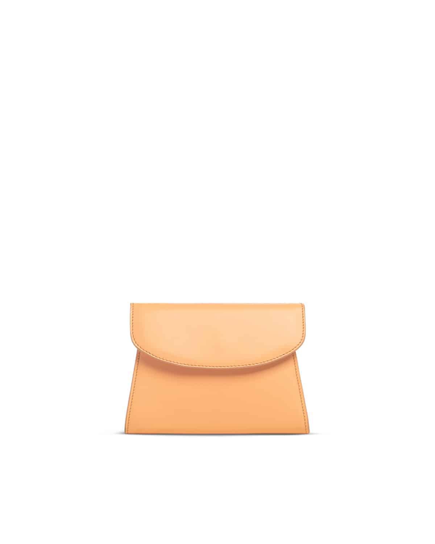 Melly minibag in pelle arancio