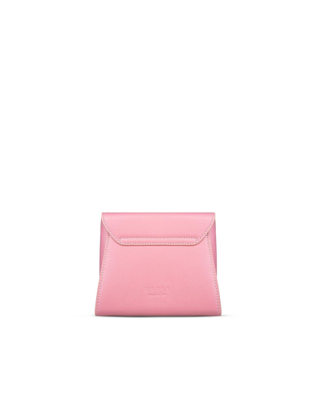 Melly minibag rosa in pelle retro