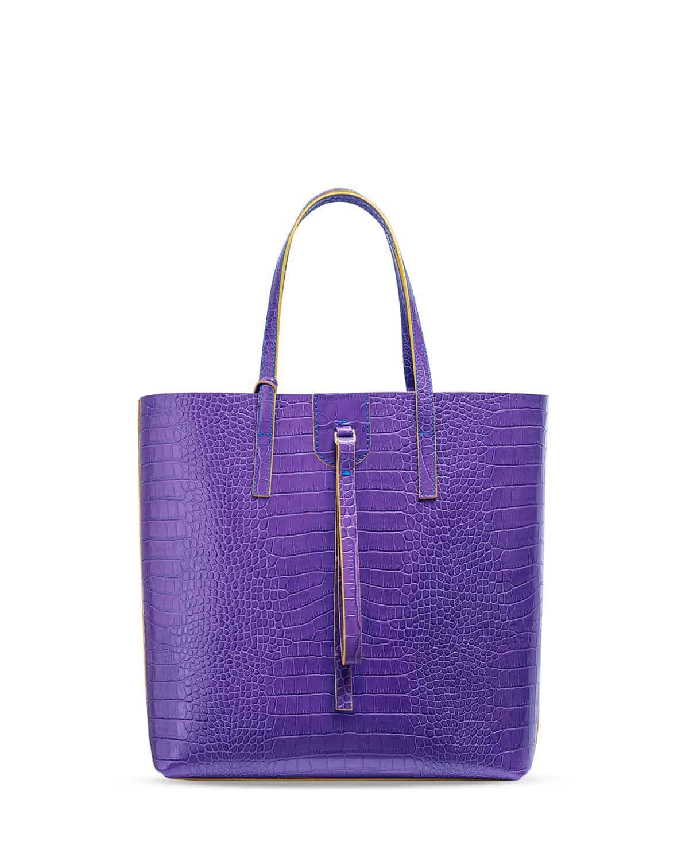 Kilesa wandy shopper bag coccolux leather purple