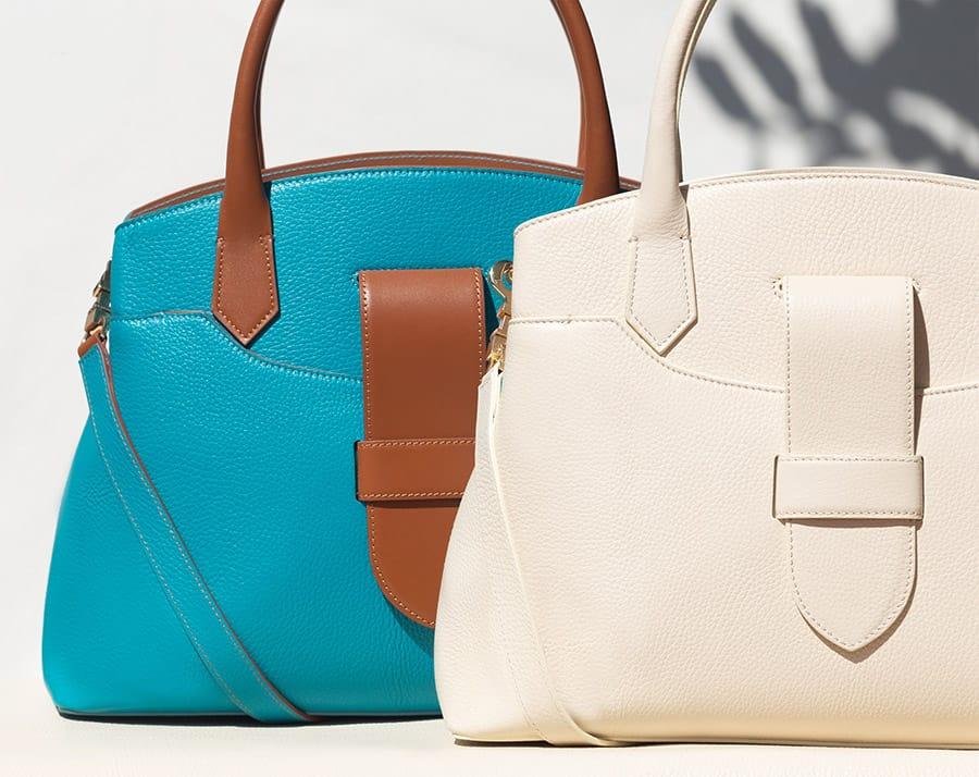 Kilesa Icon handbags real leather made in italy