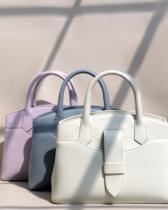 Kilesa Icon Small real leather handbag