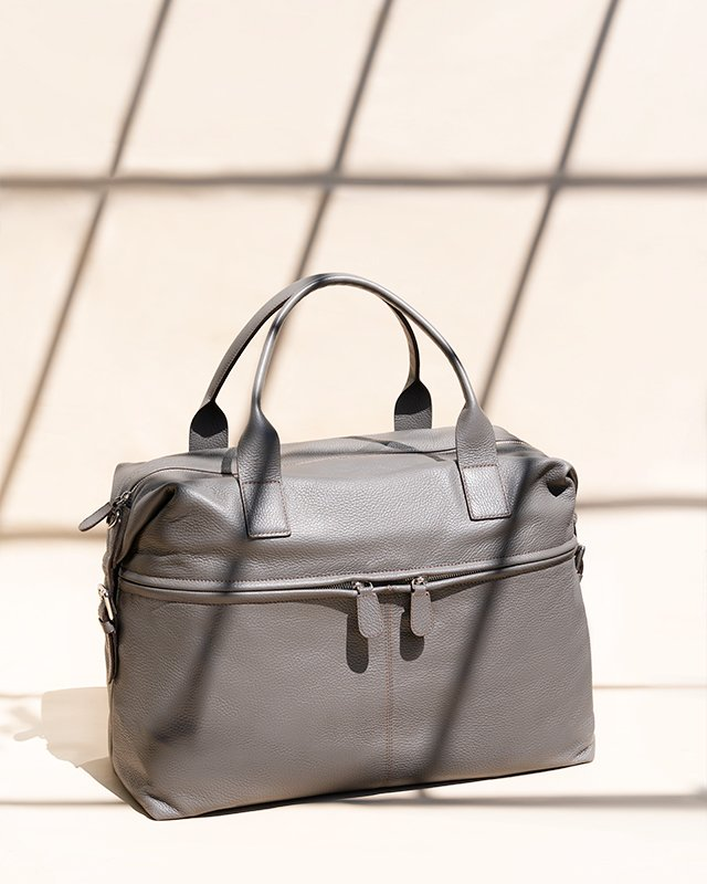 Kilesa Leather duffle bag