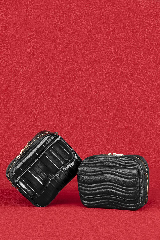 Kilesa luxury box in pelle glossy e sparkly