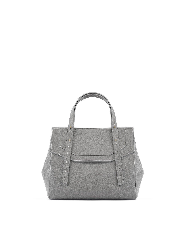 Kilesa Melissa handbag in pelle grigia stampa alce front