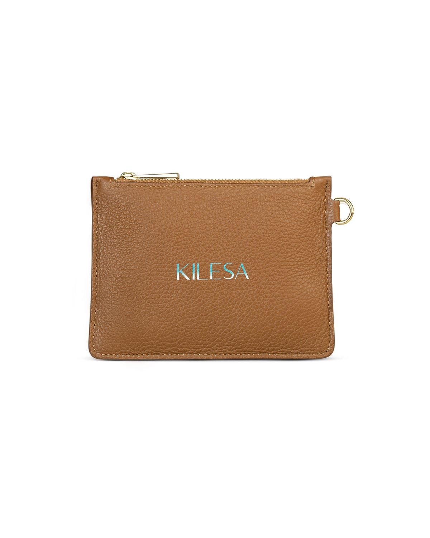 italian brown leather purse