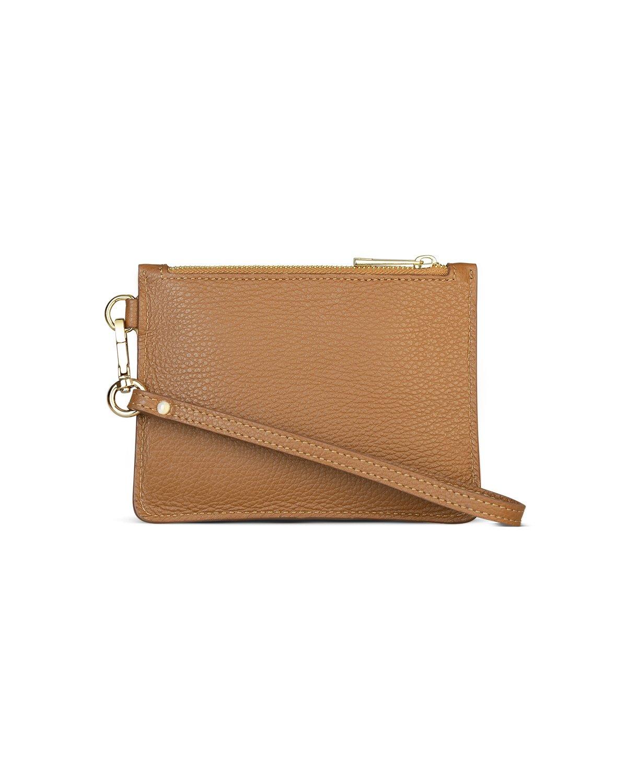 italian brown leather purse back