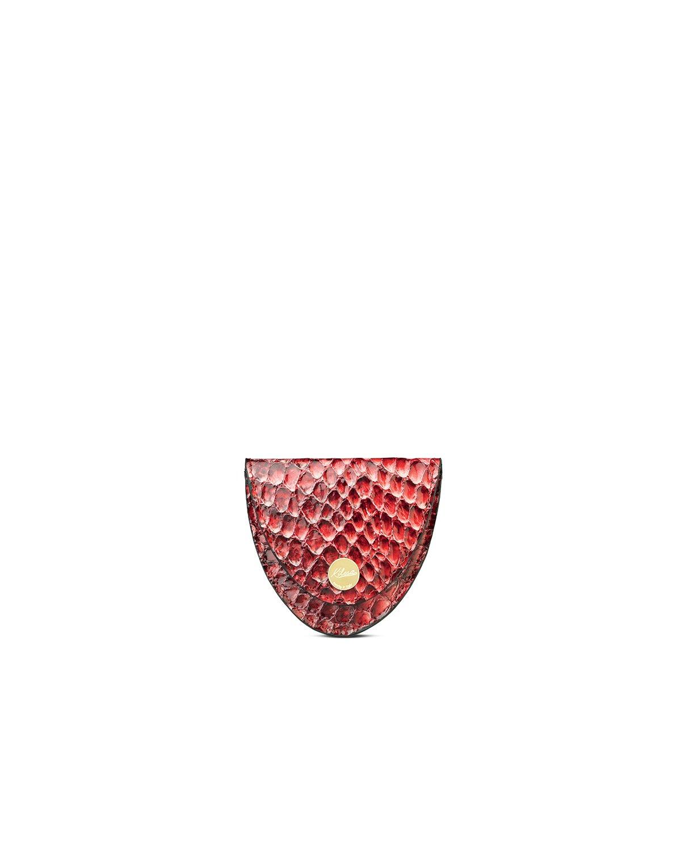 kilesa portamonete pitone rosso