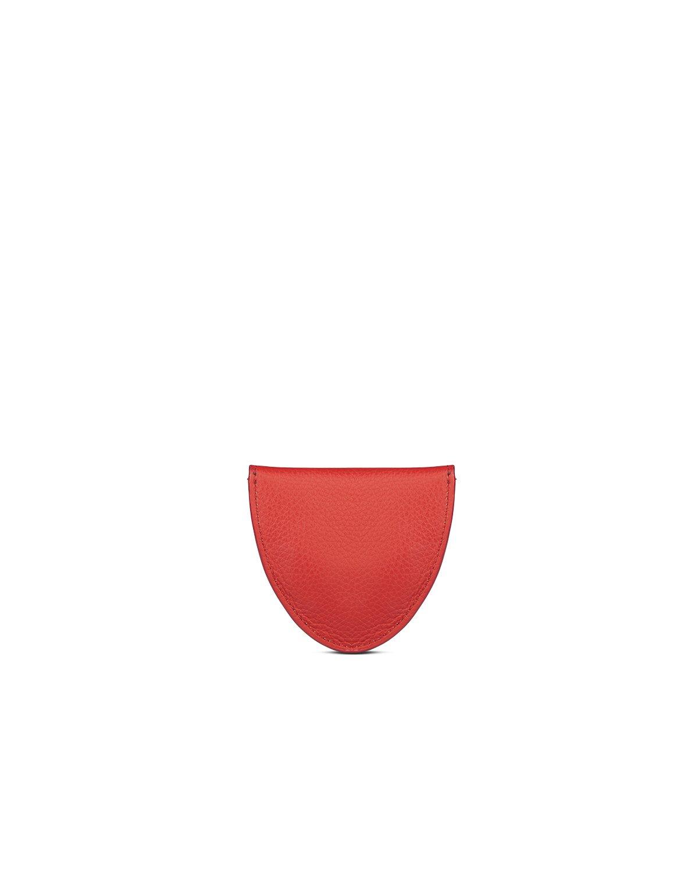 kilesa portamonete rosso pelle bottalata retro