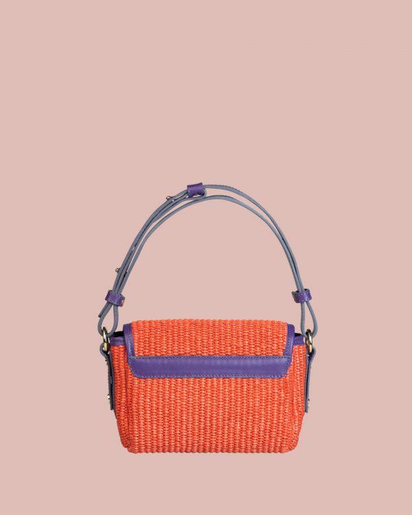 Nature Mini handbag Rosso NM03 Retro