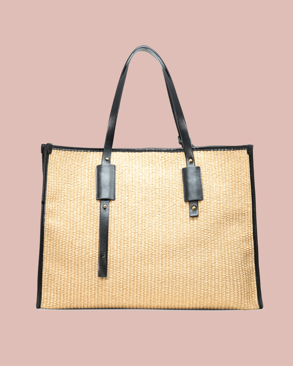 Nature Shopper bag Beige NP01 Fronte