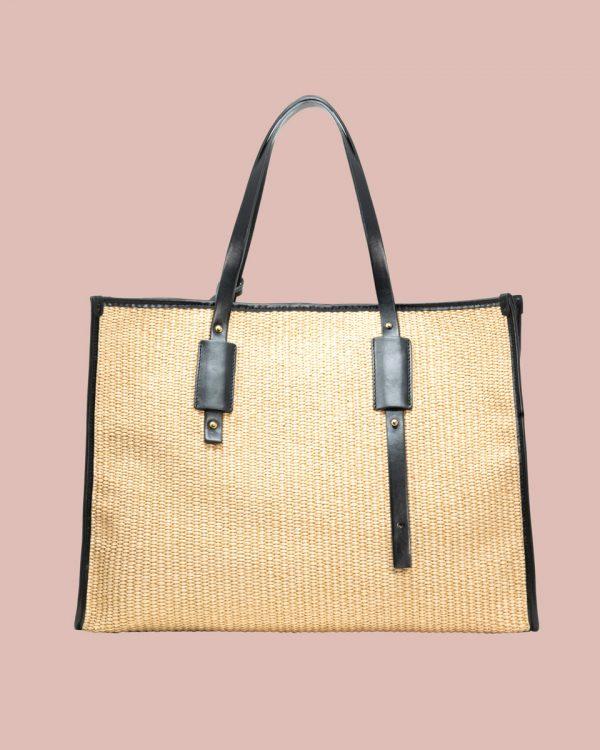 Nature Shopper bag Beige NP01 Retro