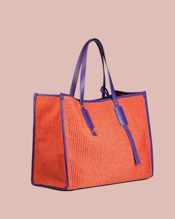 Nature Shopper bag Rosso NP01