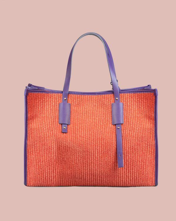 Nature Shopper bag Rosso NP01 Retro